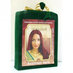 Аюрведическая краска для волос - Вишневое вино