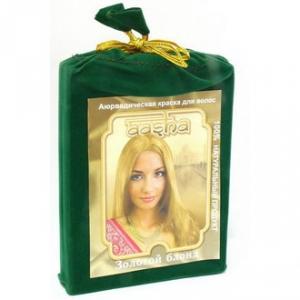 Аюрведическая краска для волос - Золотой блонд