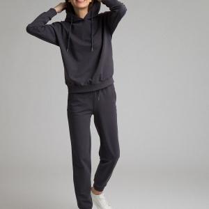Трикотажные брюки D174/raven