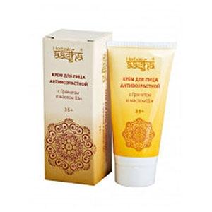 HerbasAasha Крем антивозрастной с Гранатом и маслом Ши для лица