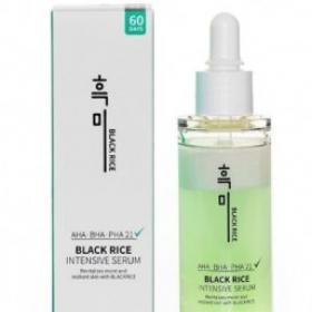 Сыворотка для проблемной кожи Black rice intensive serum