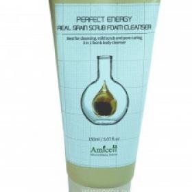 Скраб на основе натуральных зерен - Amicell Perfect Real Gran Scrub Cleanser