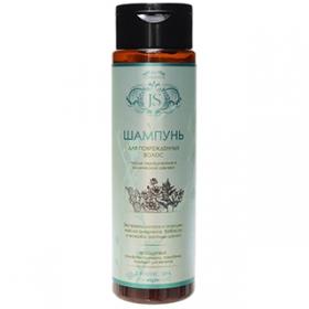 JurasicSpa. Органический шампунь для поврежденных волос после окрашивания и химической завивки