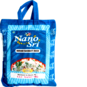 Рис Нано Шри Басмати, 5 кг (в синем мешке)