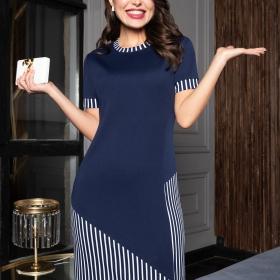 Классическое платье Леди-босс