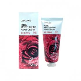 LEBELAGE Увлажняющий крем для рук с экстрактом розы
