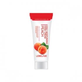 LEBELAGE Крем для рук увлажняющий с экстрактом персика, 100мл