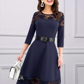 Платье Мэрилин с ремешком
