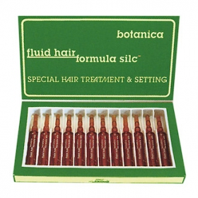 Восстановление структуры волос FLUID HAIR FORMULA SILC Botanica